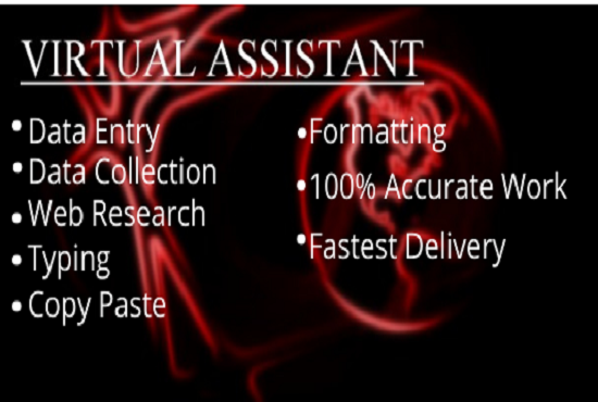 I will do excel data entry,  copy paste,  typing,  web research,  data mining
