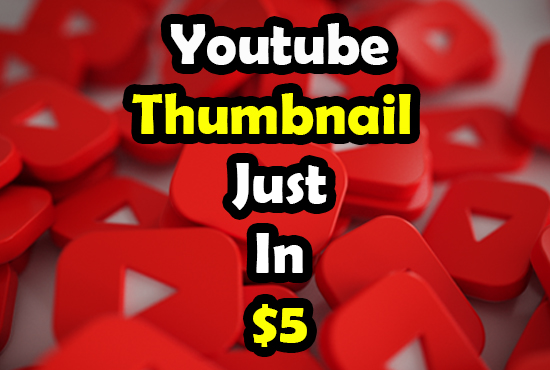 I will design catchy youtube thumbnail and banner only in 24 hours