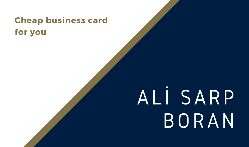 I can do business card for your job