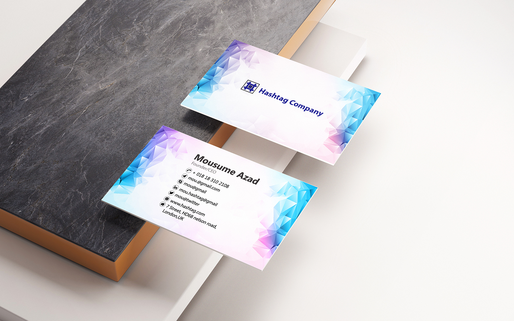 I Can Create Customized Professional Business Card
