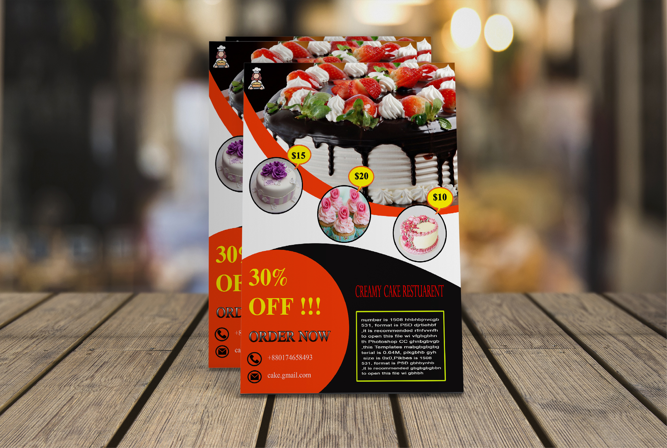 I will design your Flyer or Brochure