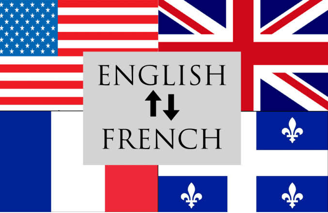 Translate from English to French and French to English