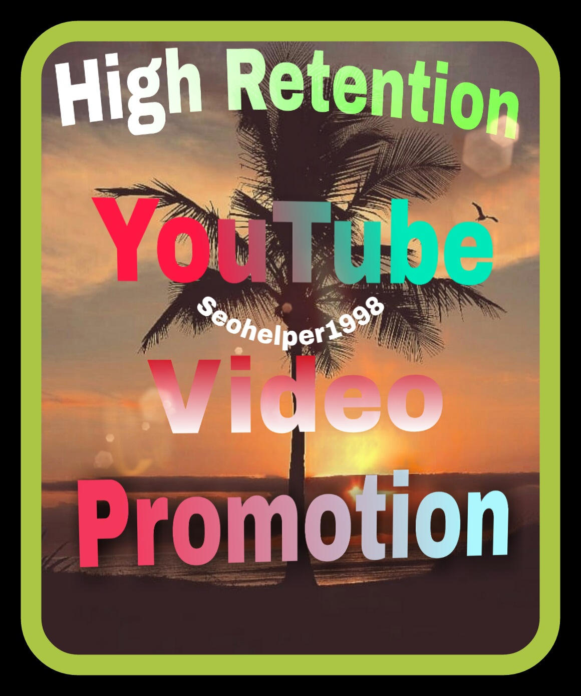 Very fast high retention YouTube promotion and social media marketing
