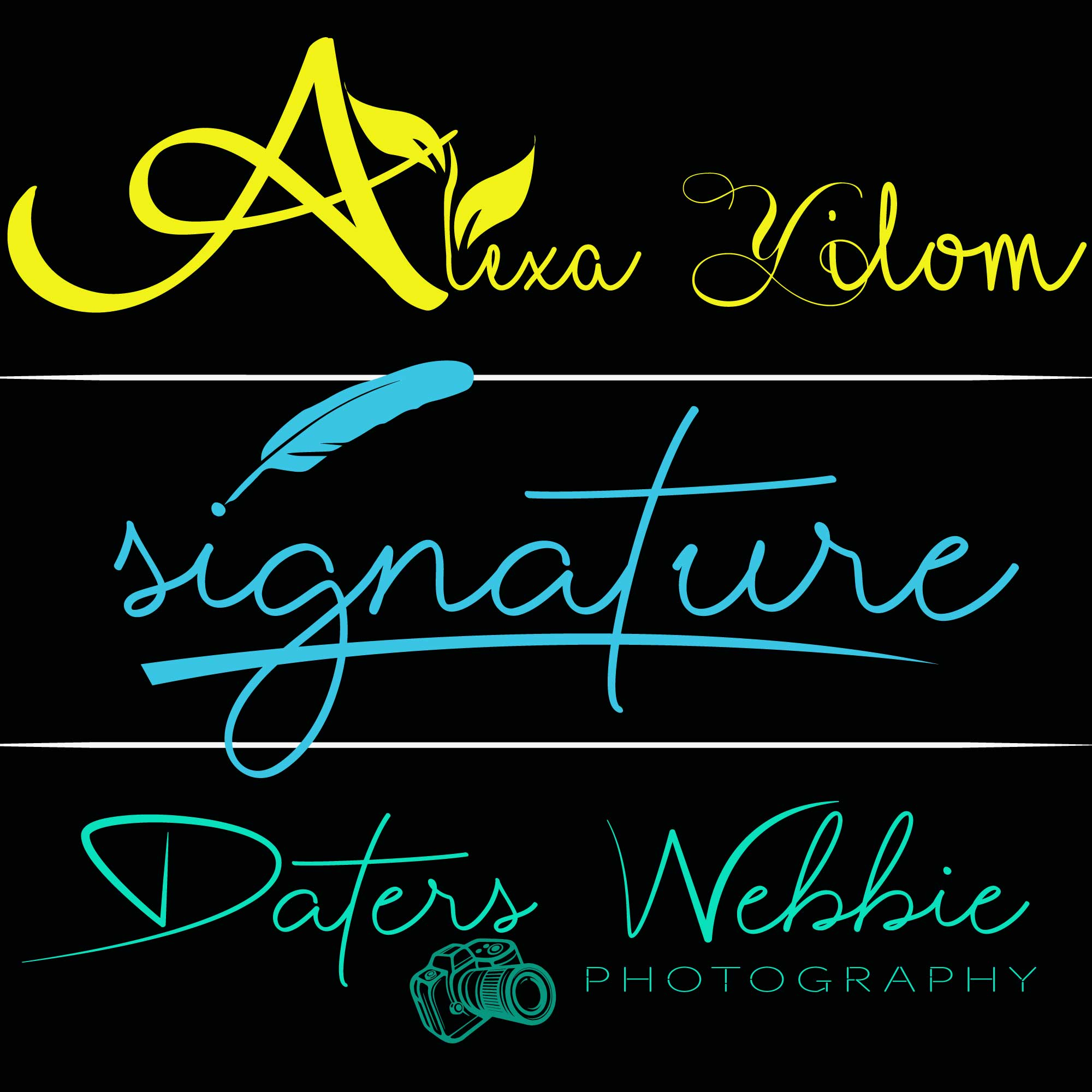 I will do standard and unique signature logo design for you