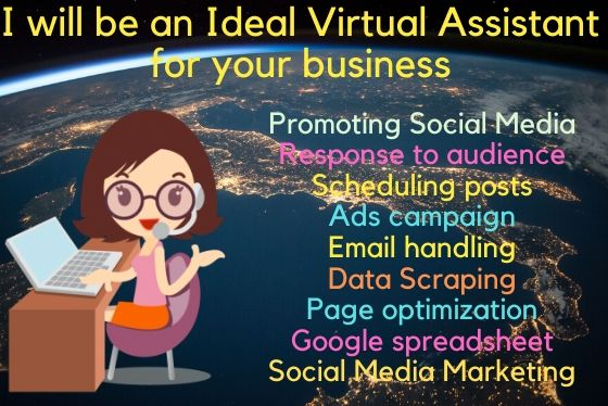 I will be an ideal virtual assistant for your business