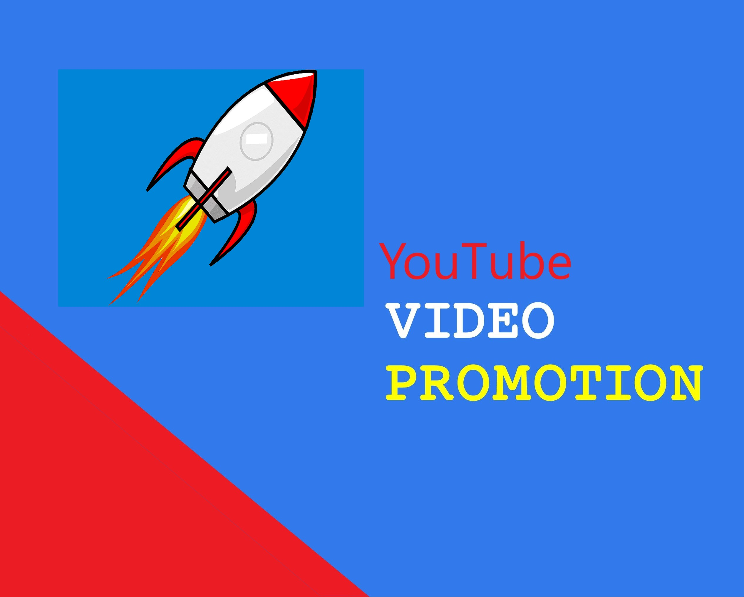 you'll have organic promotion of youtube videos