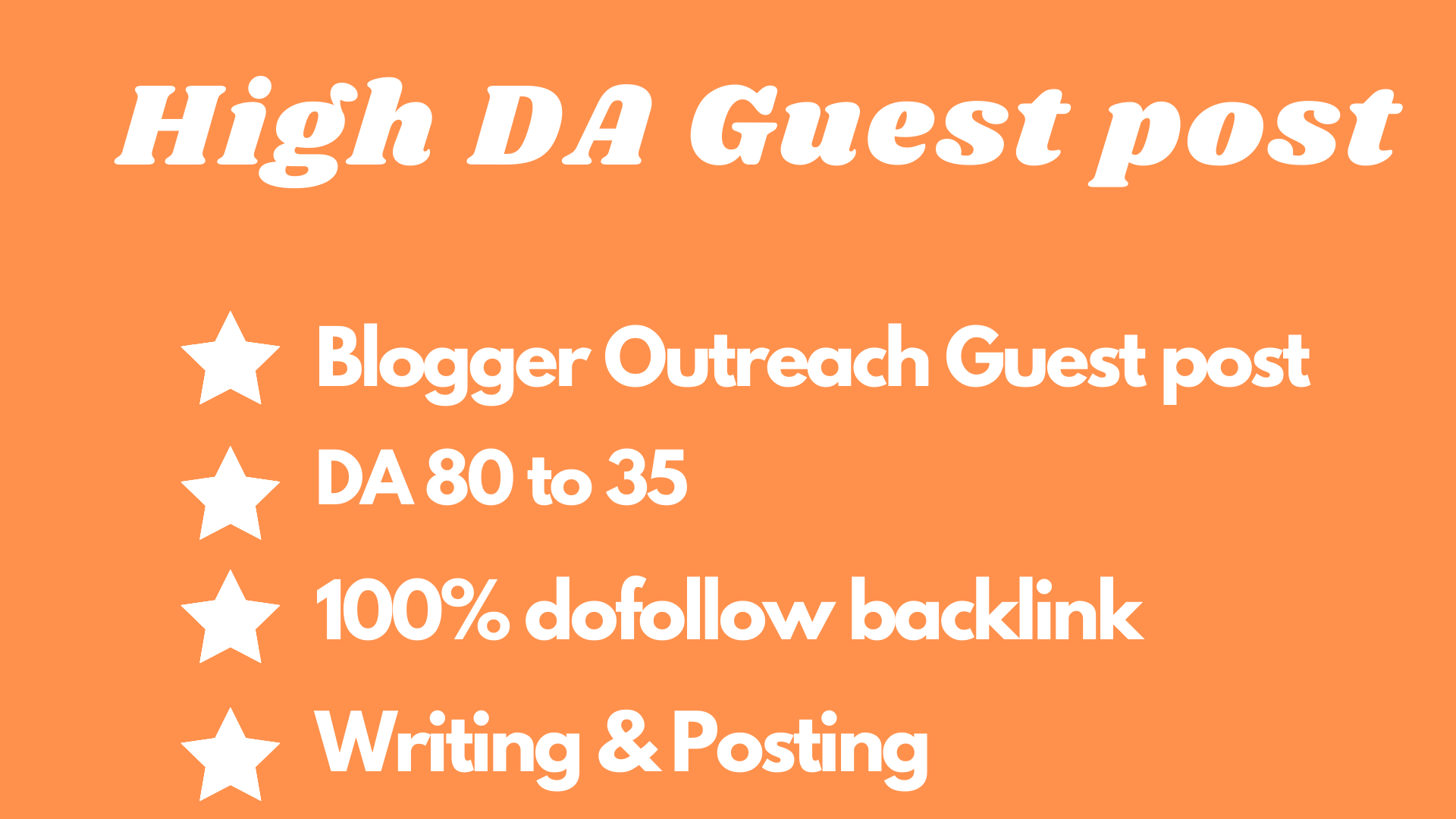 write and publish article with high da guest post and link outreach