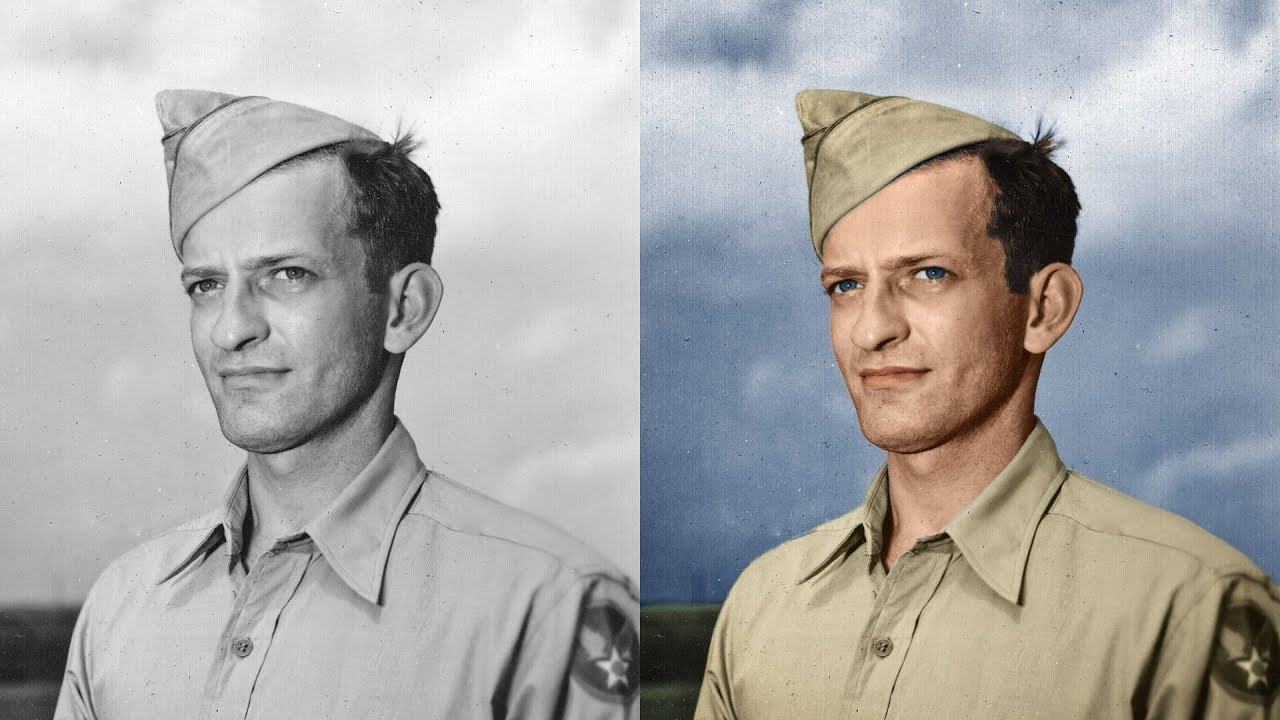 I will do photo restoration and colorize black and white photo