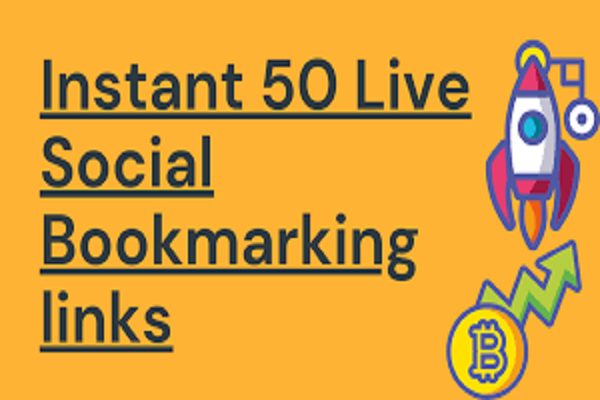 50+ High Authority Live Social Bookmarking for your site Google Ranking