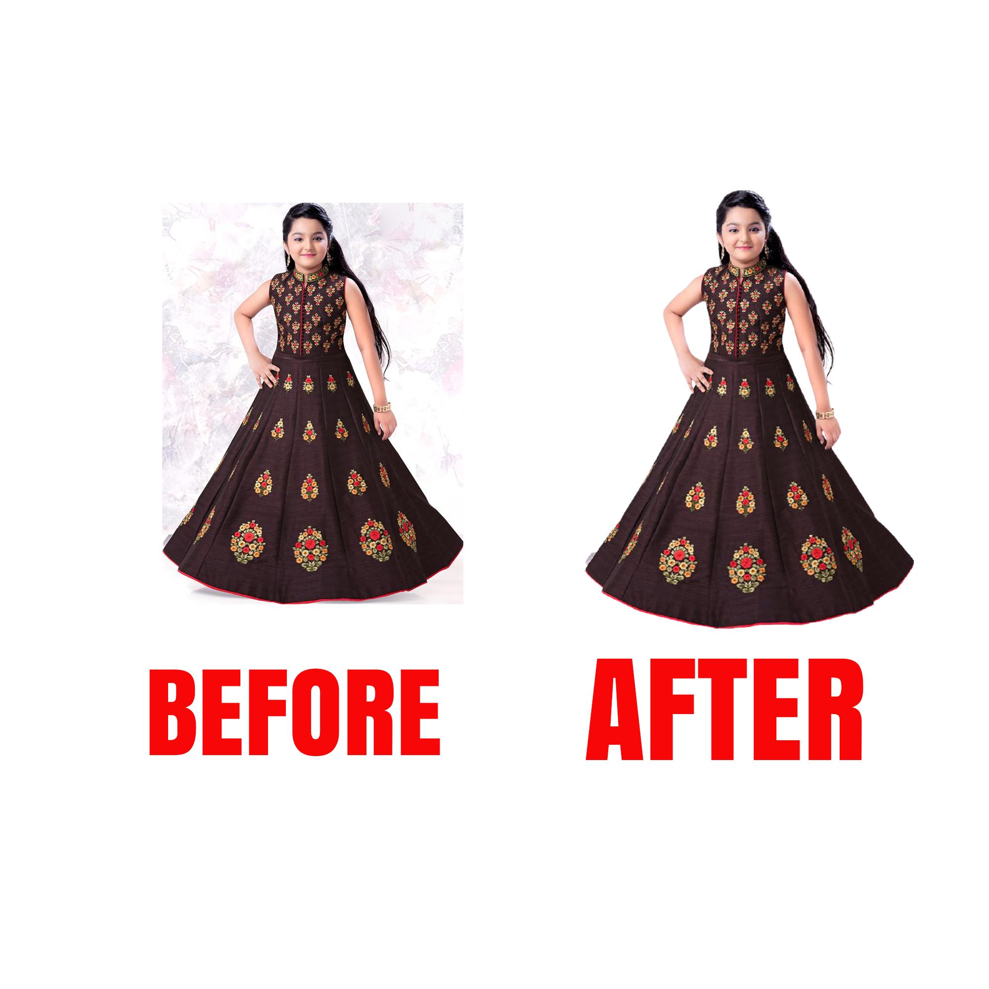 I will do photoshop editing remove background retouching resizing