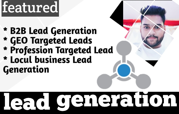 I will do b2b lead generation.i will provide you 1,000 bulk email