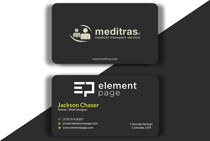 I will design a professional minimalist Luxury business card