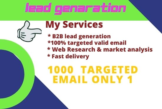Provide you valid and targeted email