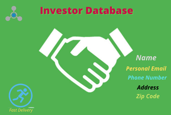 I Will Do 500 Real State Investor Database Provides