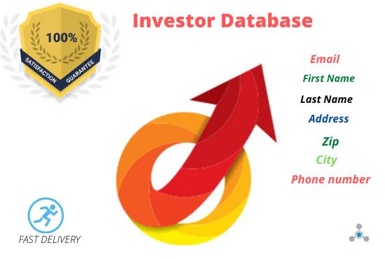 I Will Do 500 Real State Investor Database Provides