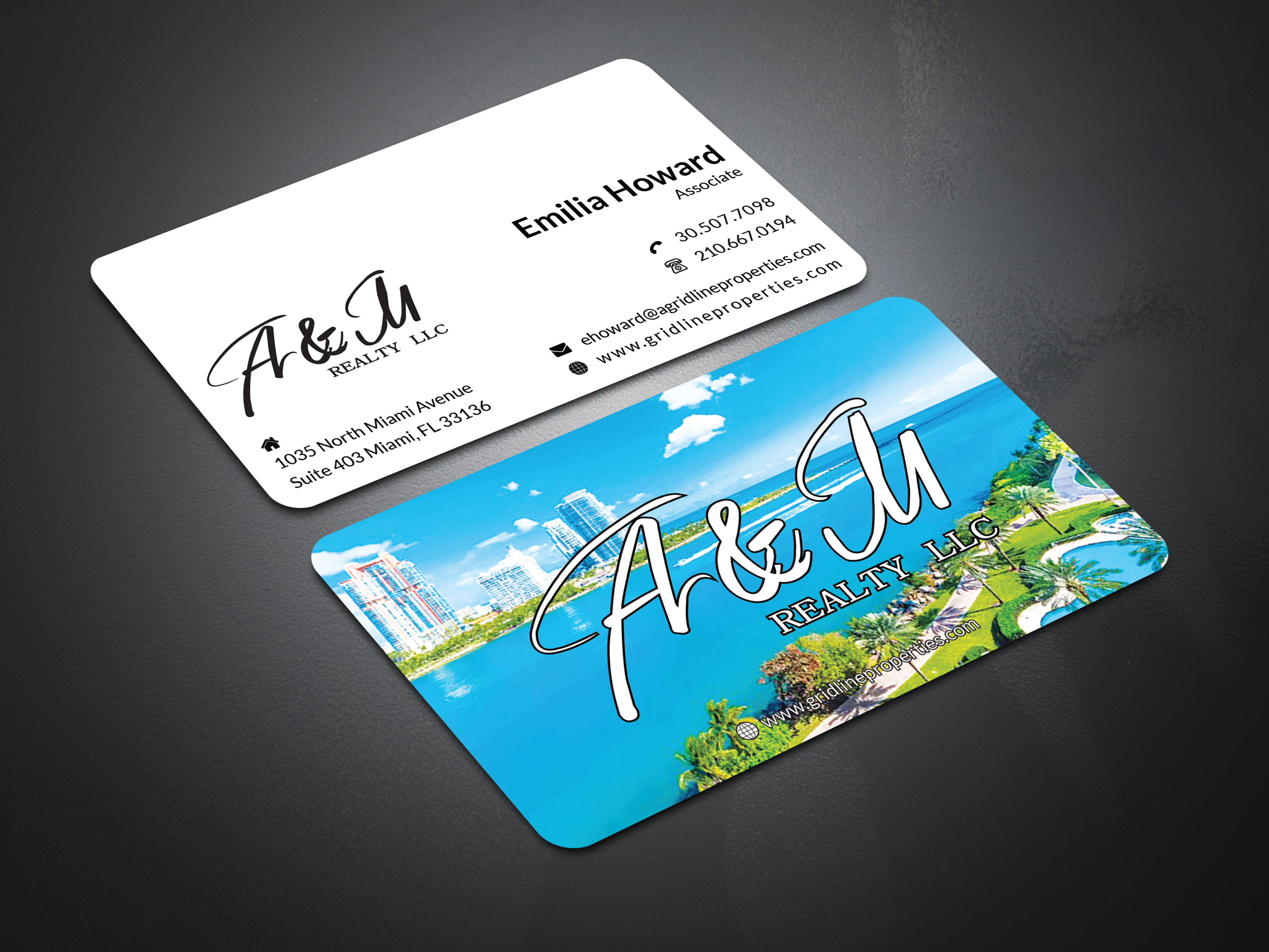 Simple Unique Business Card with gorgeous looks that I am ready to design for you
