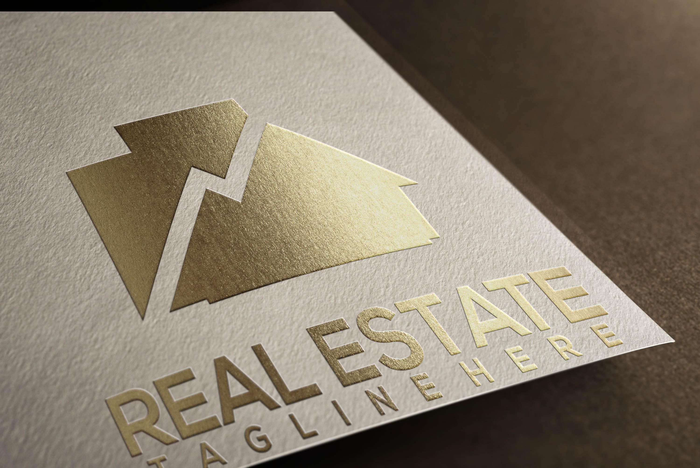 I Designed a Logo in Real Estate Company.