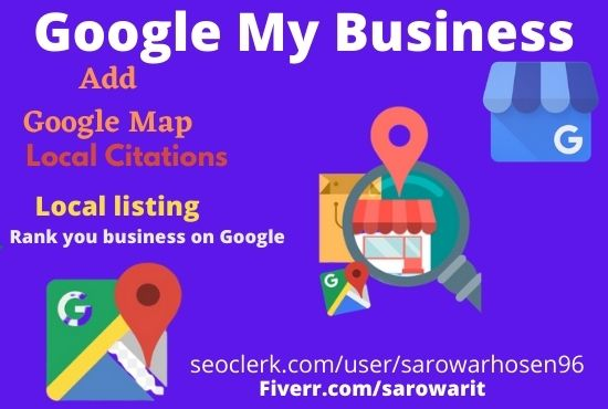 I will optimize google my business citations for ranking GMB listing and local SEO