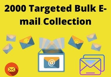 2k targeted Bulk email collection