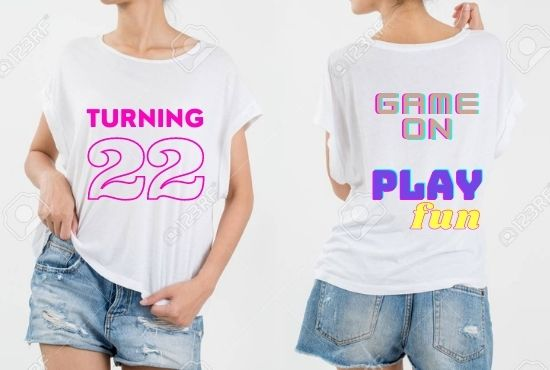 I will do any custom t shirt design