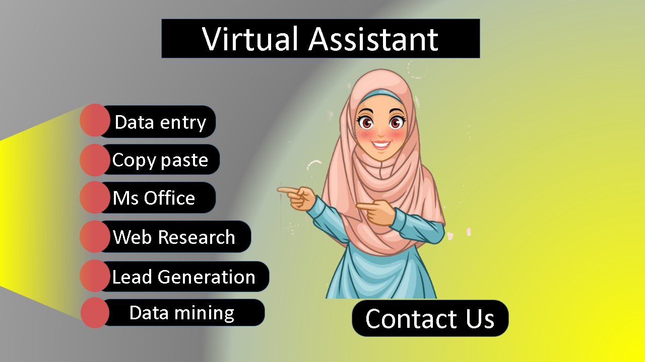 I will be your dependable & affordable Virtual assistant.