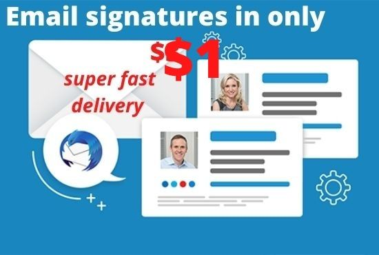 email signature service in an exclusive price