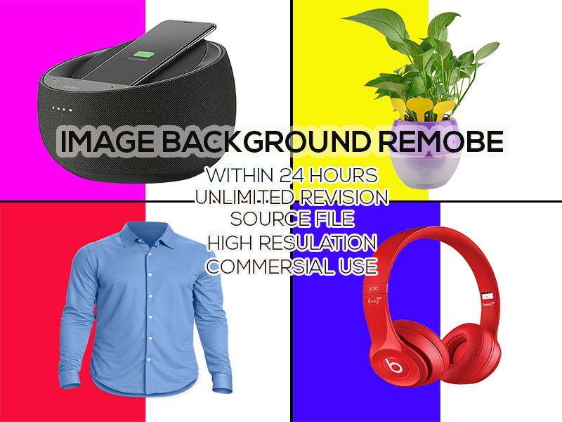 I will do image Background remove