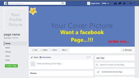 I will provide you Attractive Facebook Page.