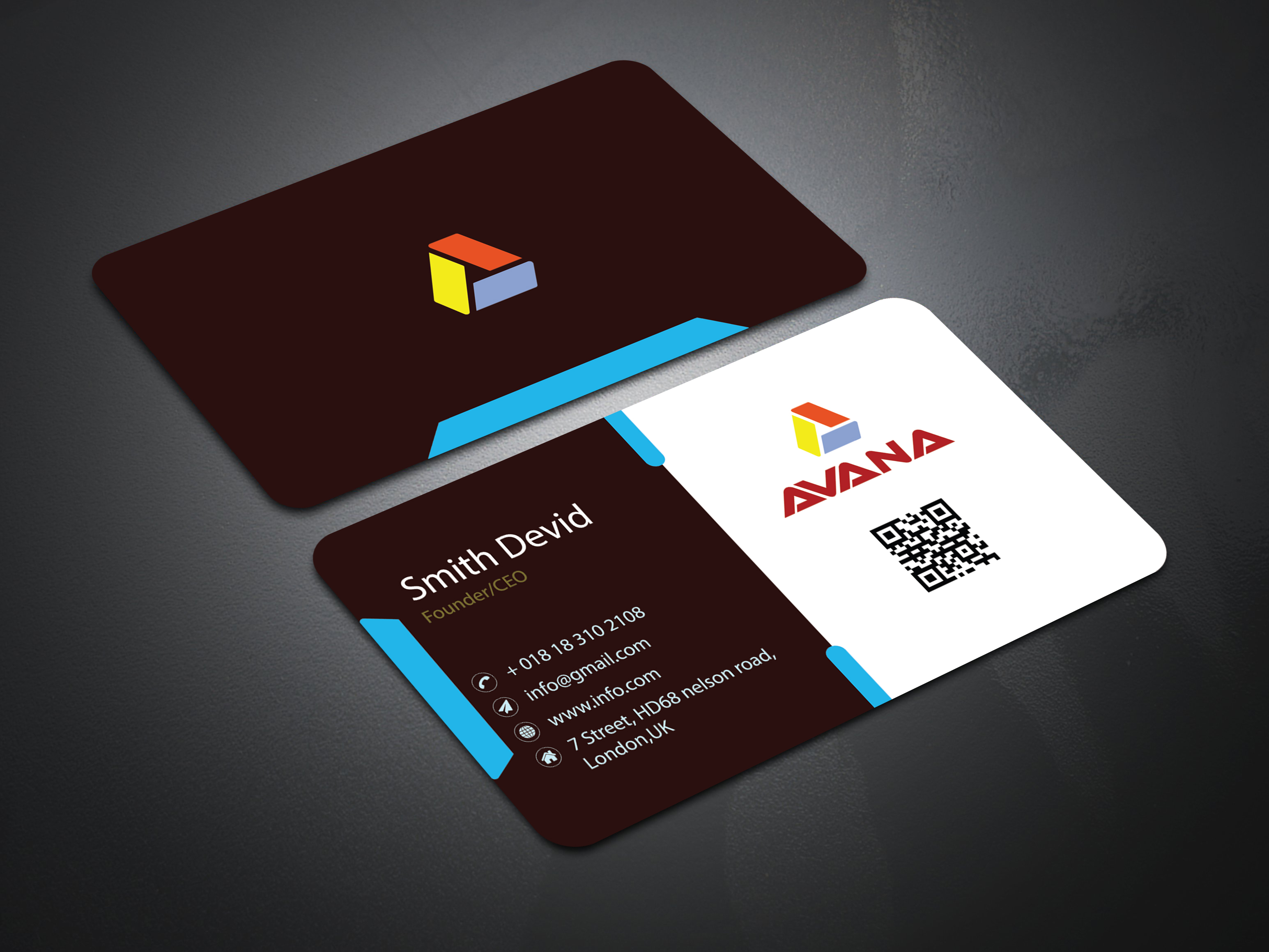 I well design a professional And luxury Business card design