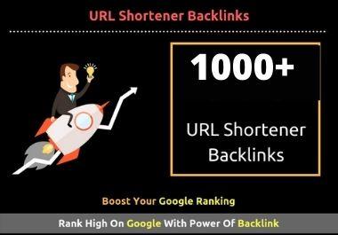 1000+ High Quality URL Shortener Backlinks