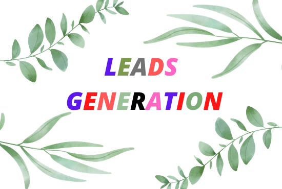 I will generate active leads for you