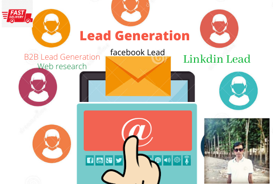 I will provide 100 targeted verified lead generation