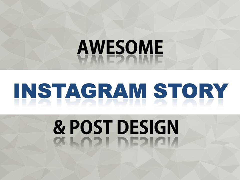 Awesome 2 Instagram ads and post design