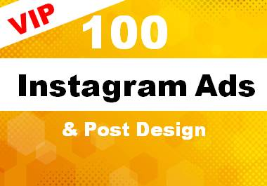 Awesome 100 instagram post design