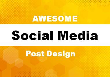 Awesome 2 social media ads and post design