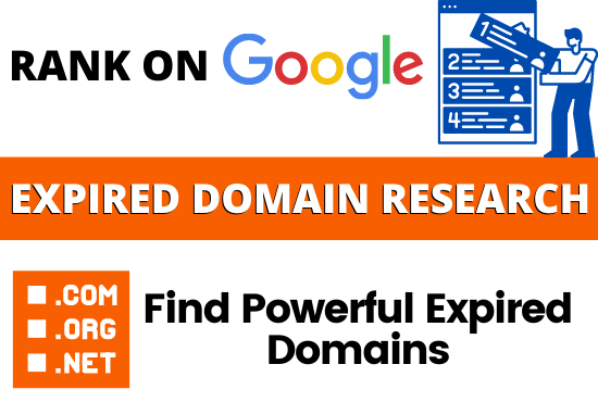 I will find powerful niche relevant expired domain