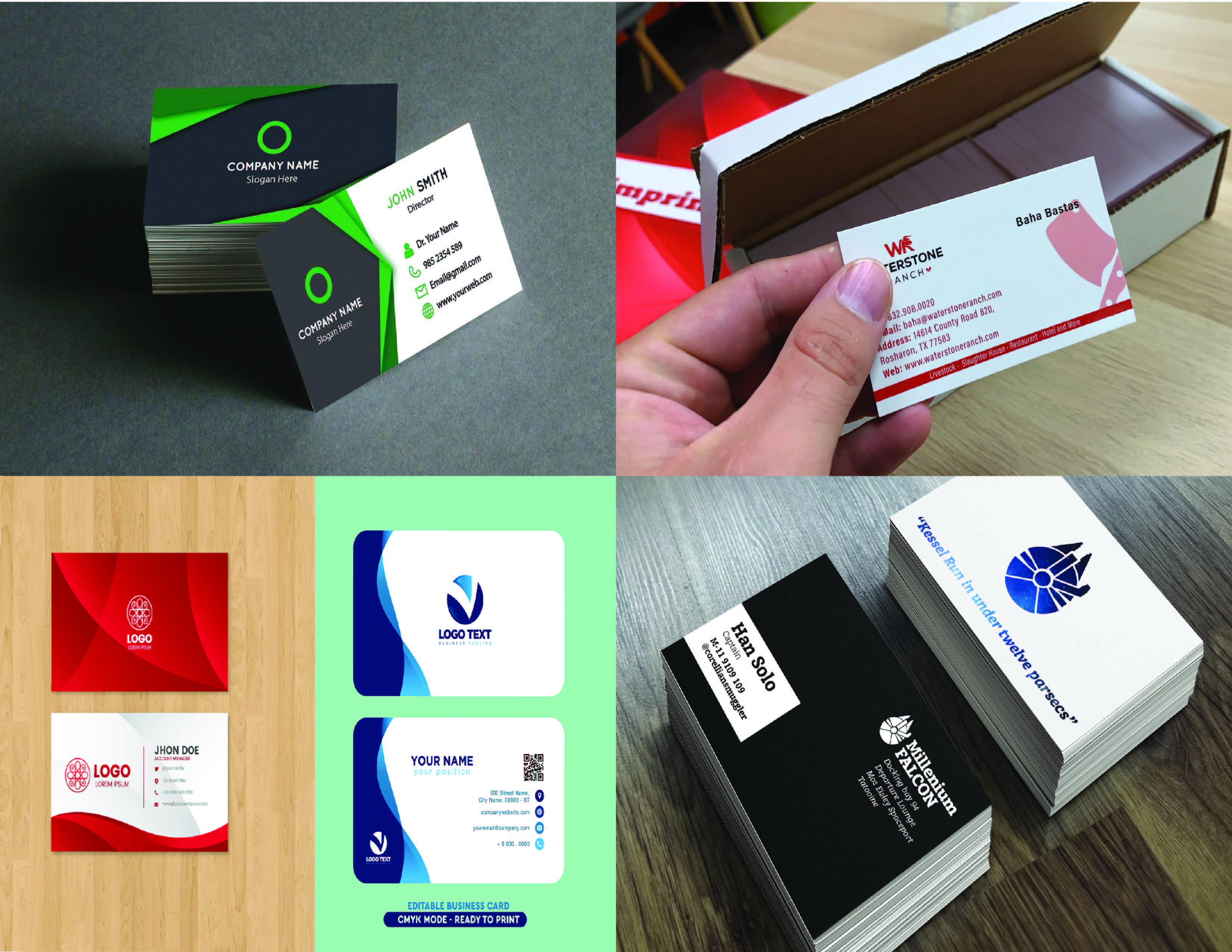 I will make Unique and Professional Business Card in 24 hour