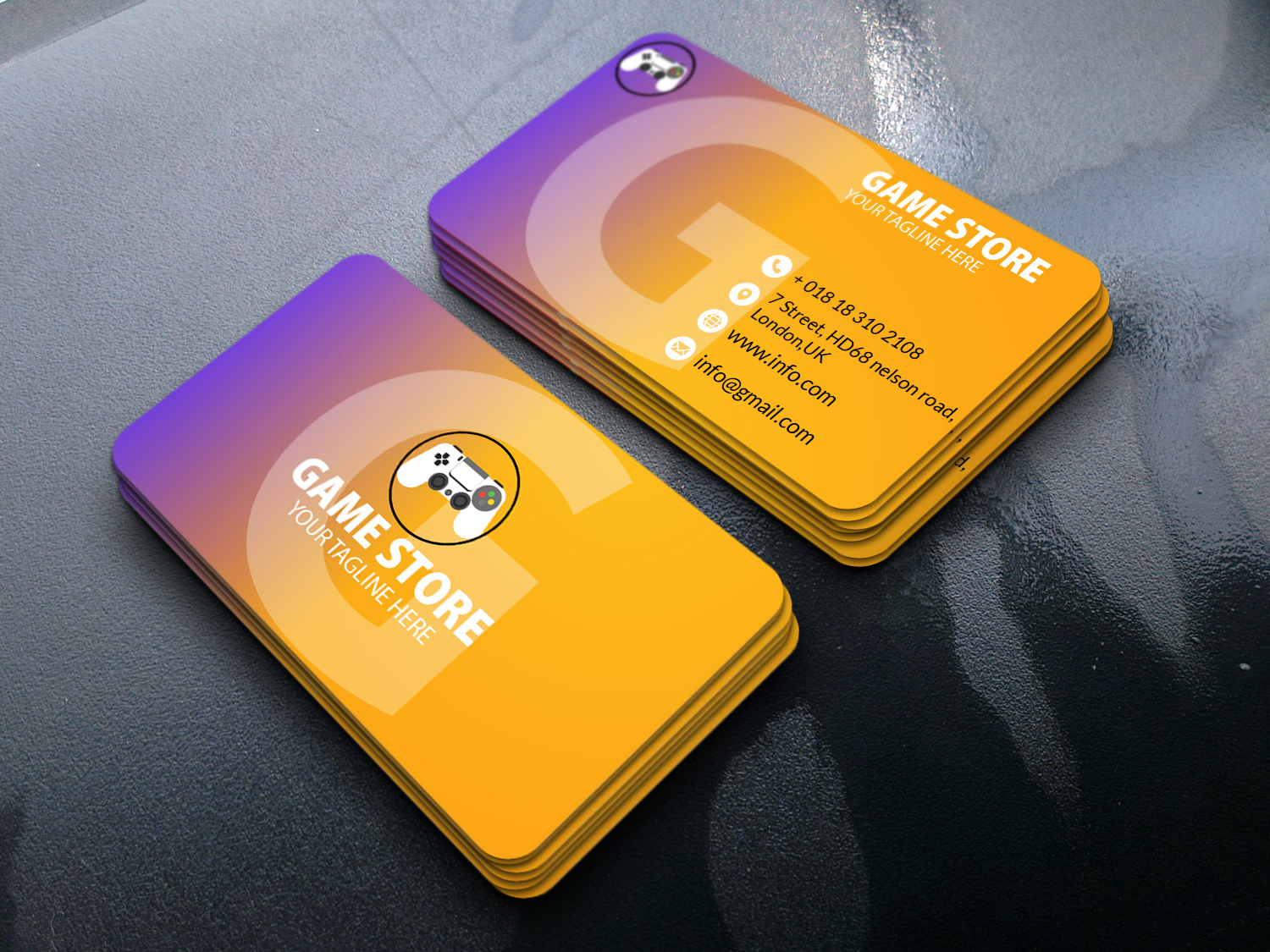 I will design Minimalist , standard or Luxury Business card for you