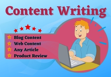 I will write 500 words unique content/Article for your website/blog