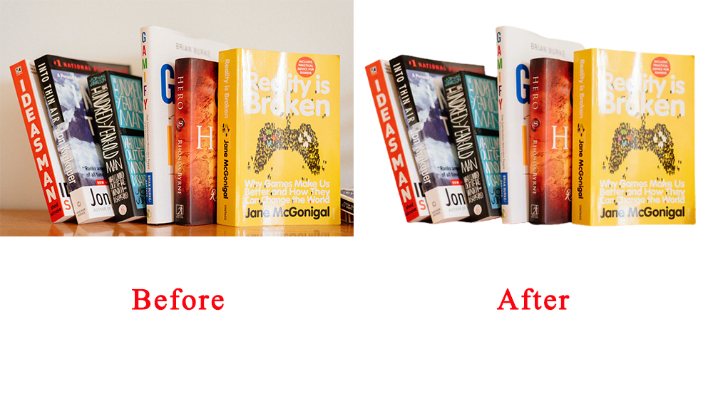 I will do background remove 100 images in Photoshop