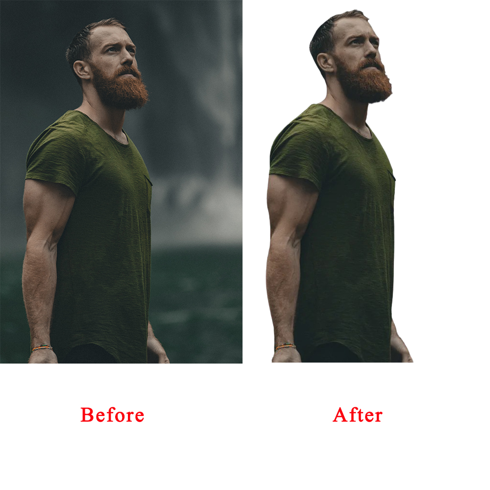 I will remove background, clipping path, color correction of photos