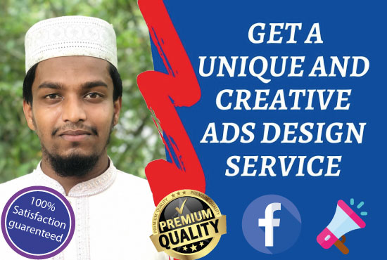 I will design amazing Facebook ads Instagram post and stories