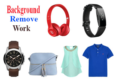 I will remove background from 5 pictures professionally in photoshop