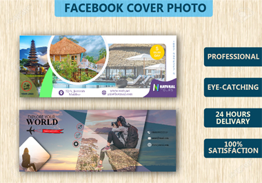 I will create a professional social media cover design