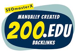 200 EDU Backlinks Manually Created From USA Universities.