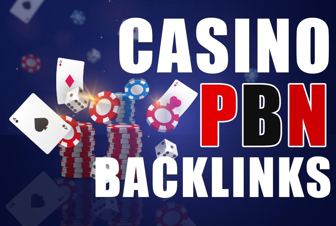 1500 Pbns backlinks Casino,  Gambling,  Poker,  Judi Related - Manual work