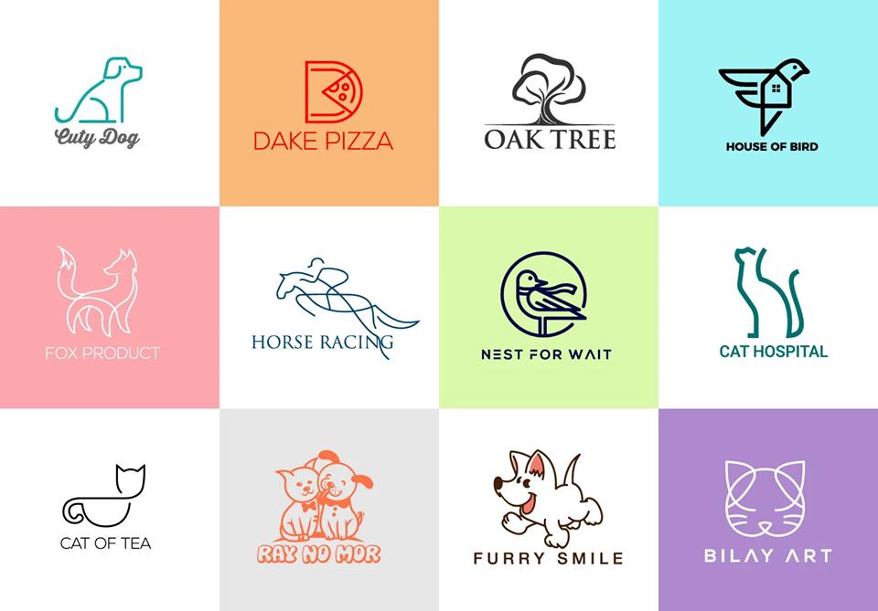 .i will create flat and minimalist logo.