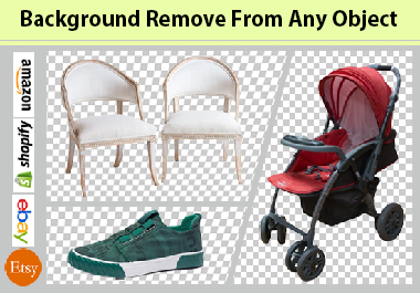 I will do background remove from your photo.