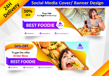 I will design Facebook Cover Photo and social media Banner.