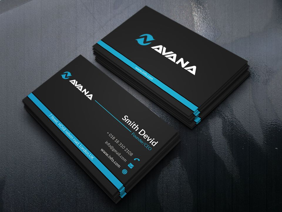 I will do creative,  simple & attractive Business card for you and your company